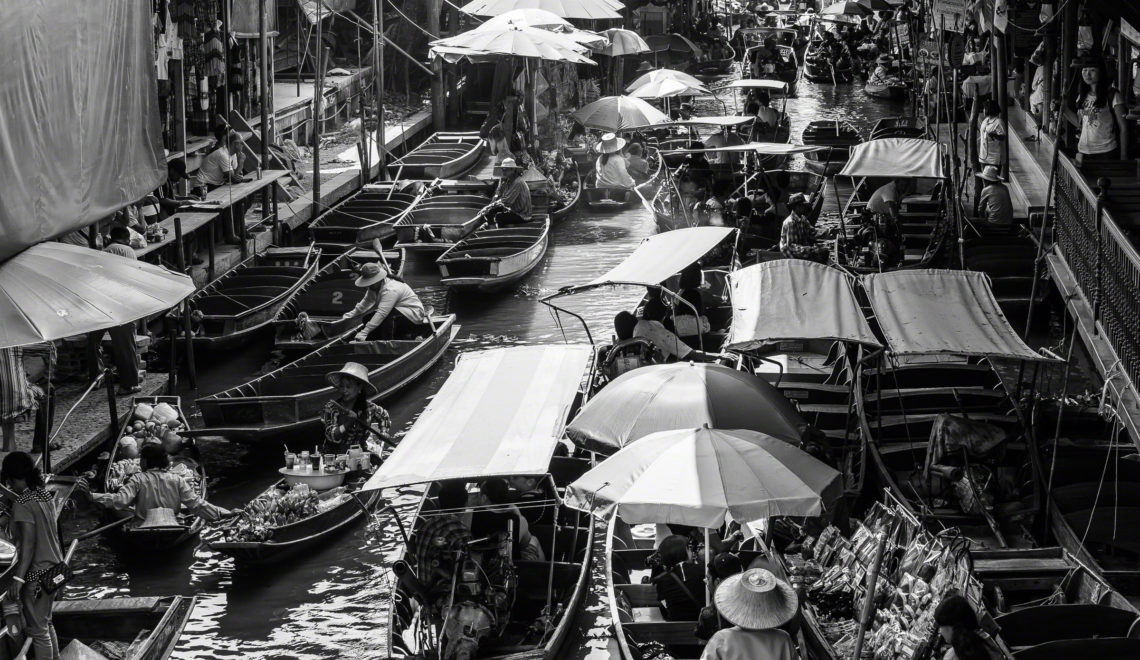 Bangkok: Floating Markets, Calm Amid Chaos