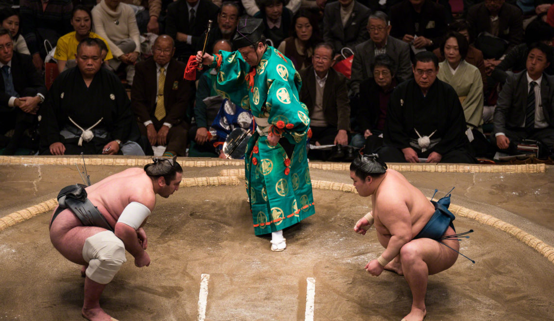 Sumo Wrestlers' Ceremony